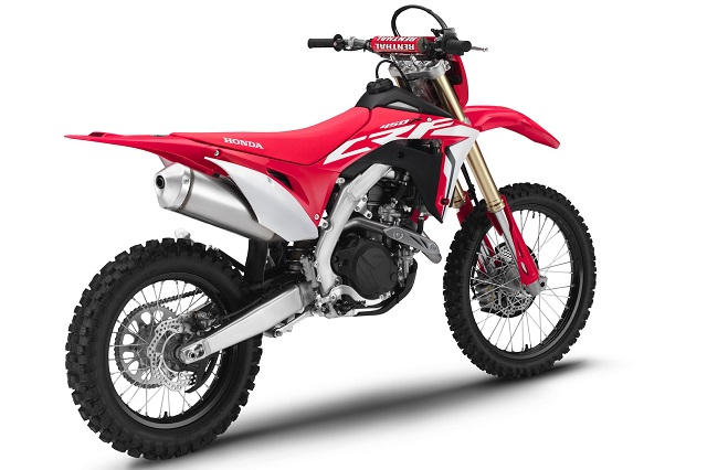 2020 Honda CRF450X rear