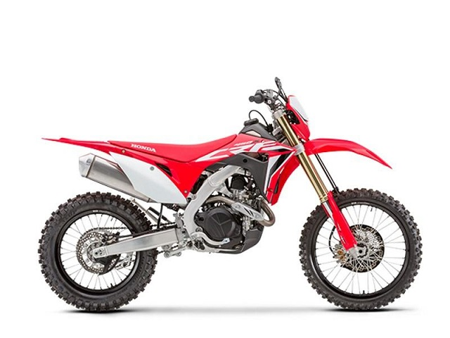 2020 Honda CRF450X side