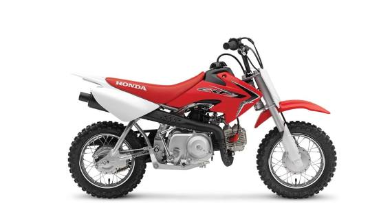 2020 Honda CRF50F side