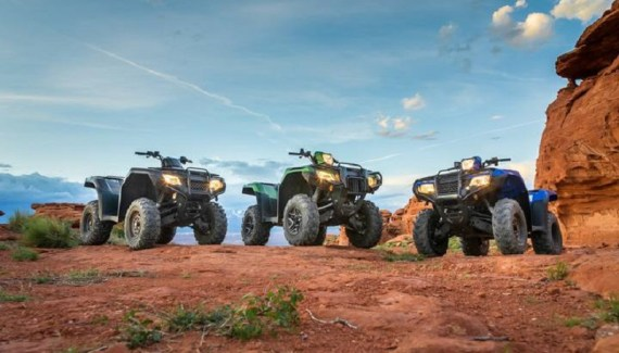 2020 Honda Fourtrax Rancher main