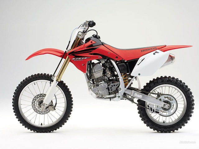 2020 Honda CRF150R side