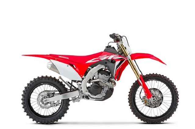 2020 Honda CRF250RX side