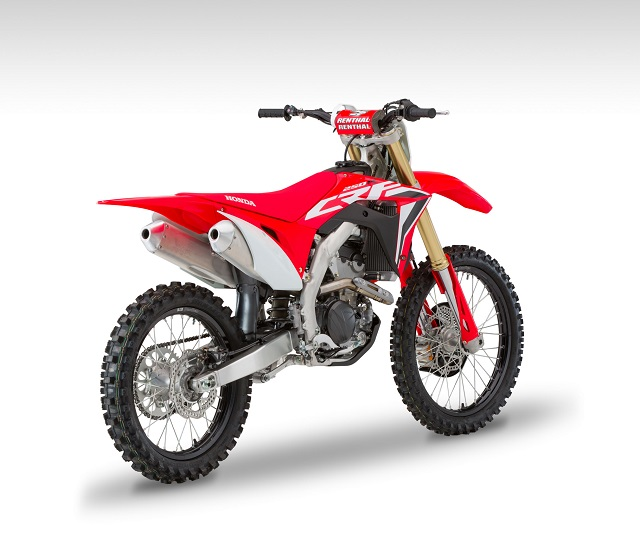 2020 Honda CRF250R rear