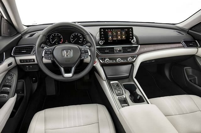 2021 Honda Accord Coupe Interior