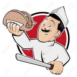 26729984-funny-doner-cartoon-in-a-badge-Stock-Vector-kebab-doner