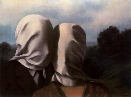 René Magritte, Los amantes (1928)