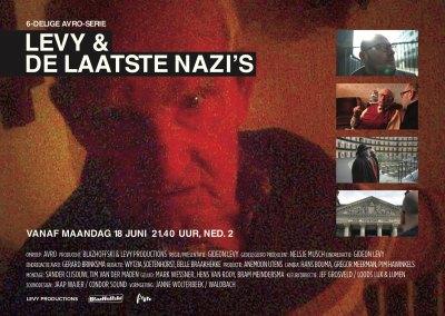 Levy & De Laatste Nazi's, cover