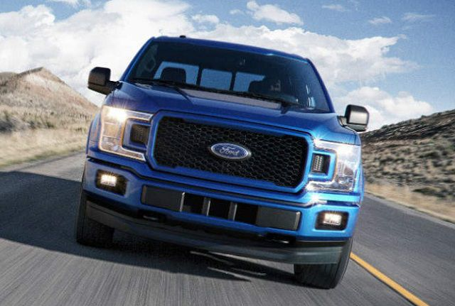 2018 Ford F-150 Lightning front