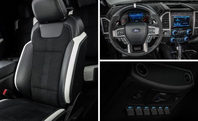 2018 Ford F-150 Lightning interior