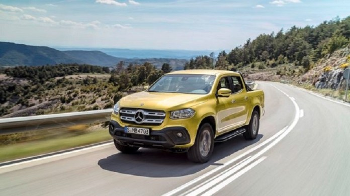 2018 Mercedes X-Class Pickup Truck Price