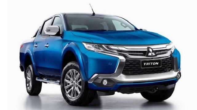 2018 Mitsubishi Triton front view