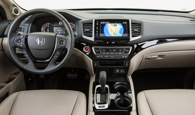 2018 honda ridgeline hybrid interior