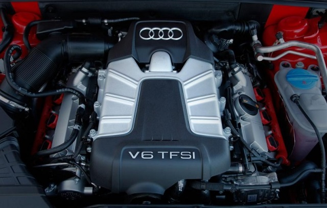 2019 Audi Pickup Truck engine
