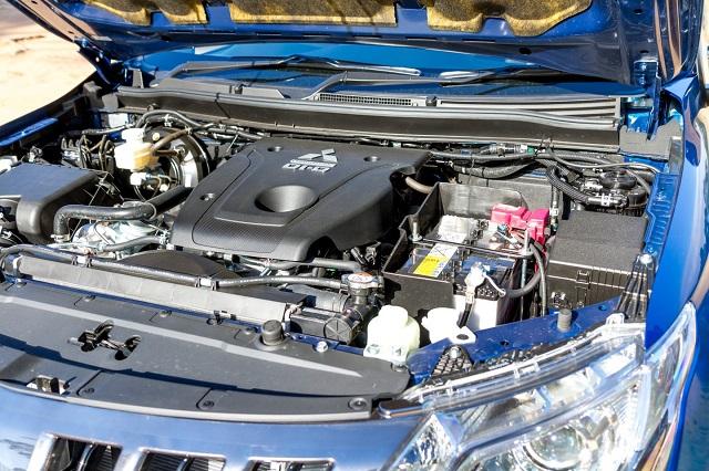 2019 mitsubishi triton engine