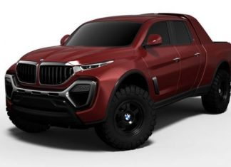 BMW pickup truck front