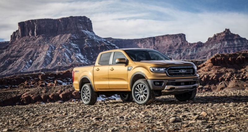 2019 Ford Ranger side