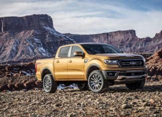 2019 Ford Ranger side