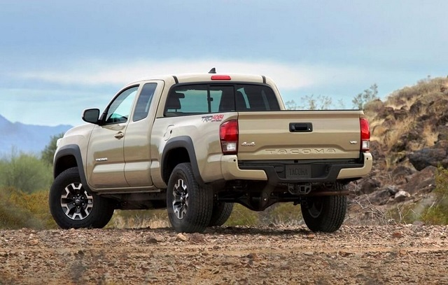 2019 Toyota Tacoma Diesel rear view