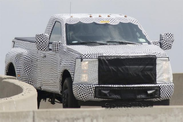 2019 Ford Super Duty view