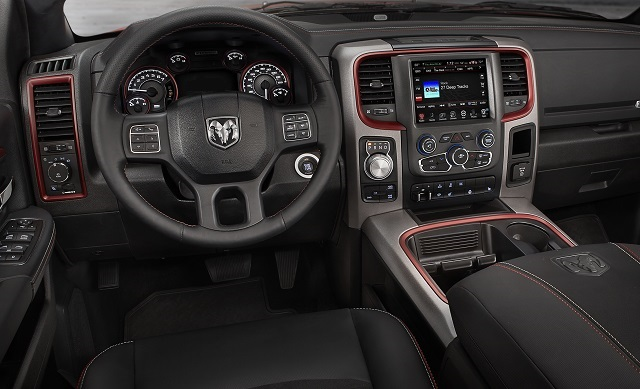 2019 Ram Rebel TRX interior