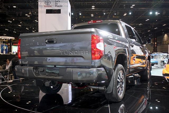 2019 Toyota Tundra Diesel Release Price 2020 Trucks Rear View