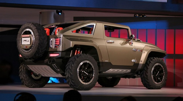 Hummer HX Concept rear view