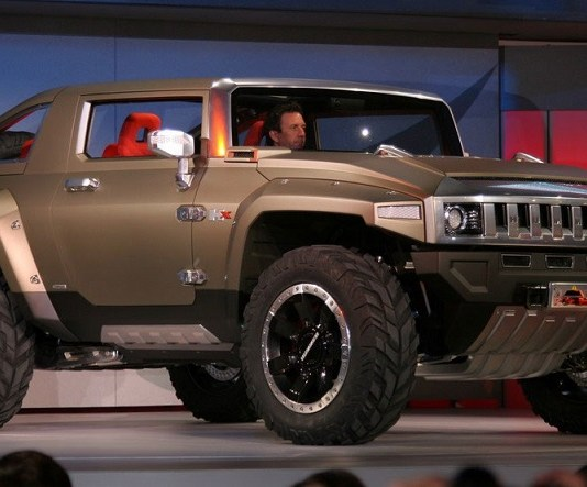 Hummer HX Concept review