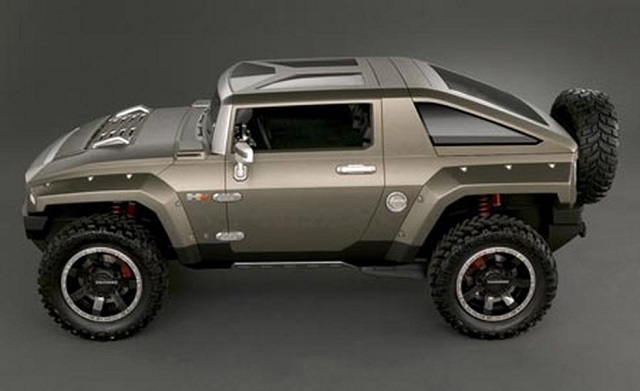 Hummer HX Concept side view
