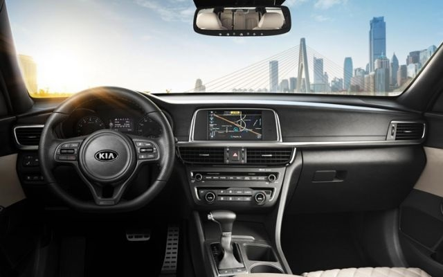 kia pickup interior