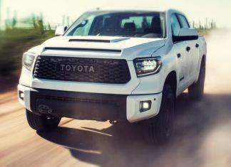 2019 Toyota Tundra TRD Pro front