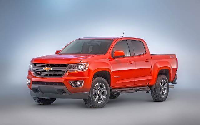 2019 Chevy Colorado Diesel front