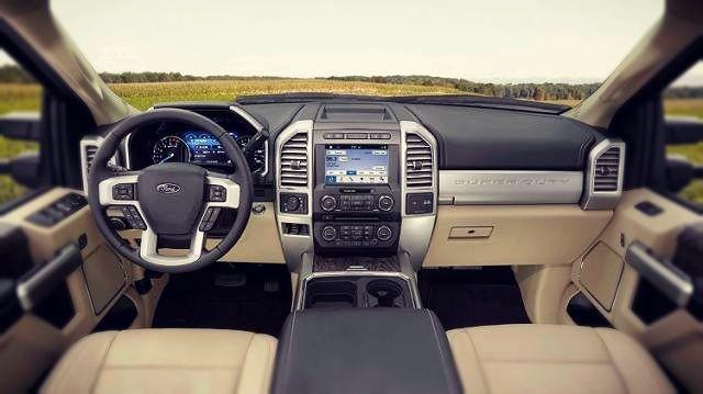 2019 Ford F-250 Diesel interior