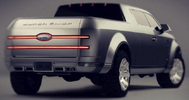 2019 Ford Super Chief rear