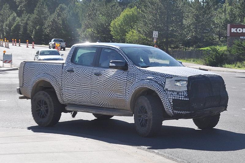 2020 Ford Ranger Raptor spy shots