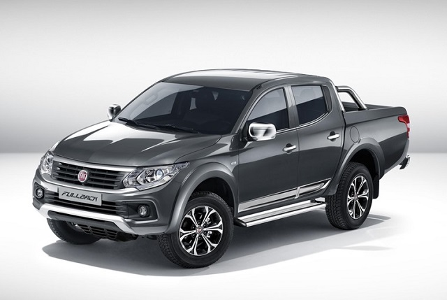 2018 fiat fullback front view