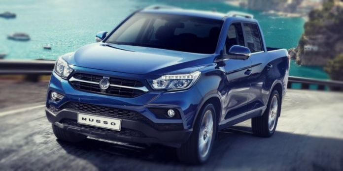 2019 SsangYong Musso Redesign