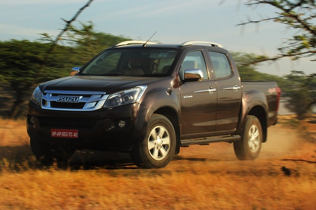 2019 Isuzu D-Max V-Cross front view