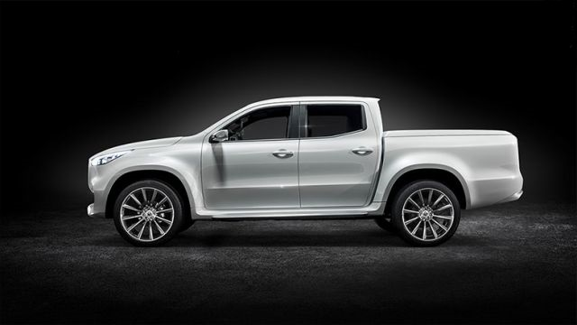 2020 Mercedes-Benz Pickup Truck side
