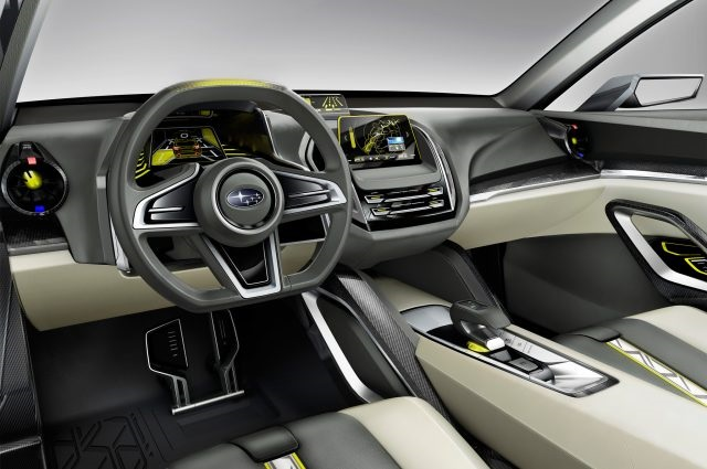 Subaru Baja Truck Concept interior