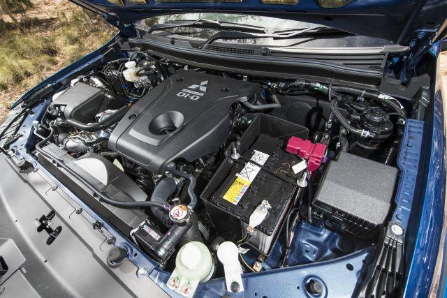 2020 Mitsubishi Triton engine