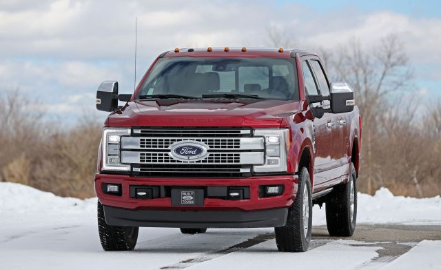 2020 Ford F-250 front