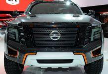 2020 Nissan Titan Warrior front