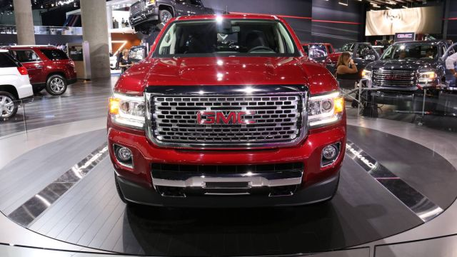 2020 GMC Canyon Denali Gets Increased Towing Capacity