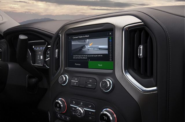 2020 GMC Sierra 2500 HD interior
