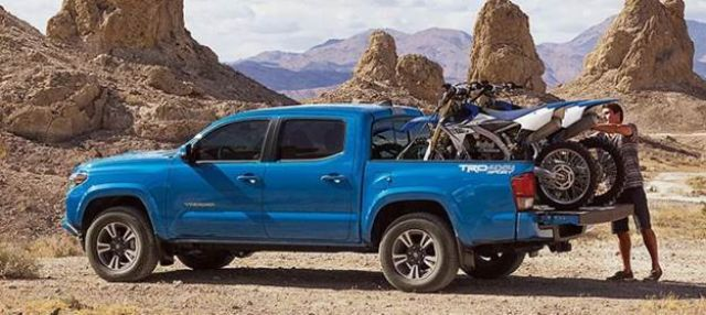 2020 Toyota Tacoma TRD Pro front side