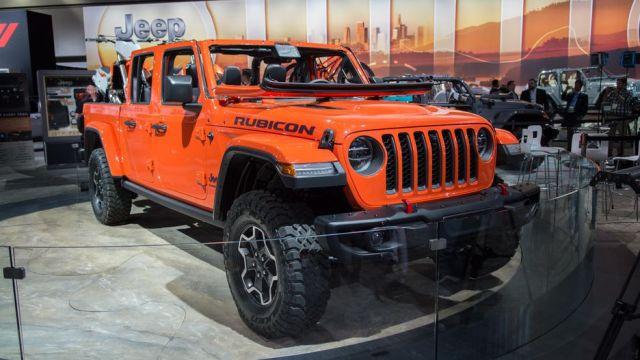2020 Jeep Gladiator front