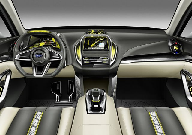 2020 Subaru Baja Pickup Truck interior
