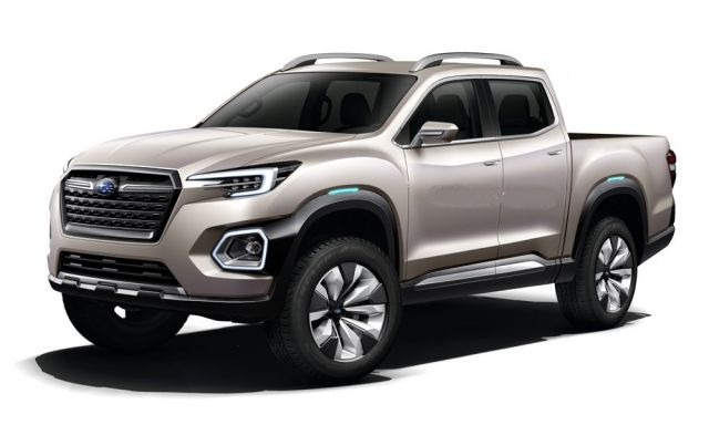 2020 Subaru Baja Pickup Truck side