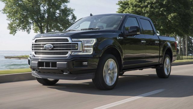 2020 Ford F-150 front