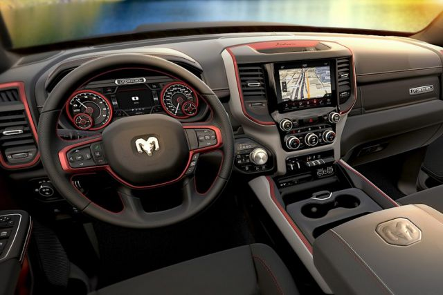 2020 Ram 1500 TRX Hellcat-Powered interior